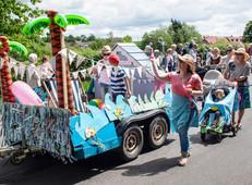 Framlingham Gala Fest Parade
