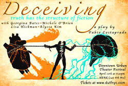 Deceiving...at HERE ARts