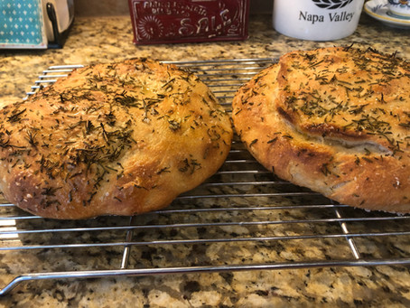 """Most Excellent Bread Ever""  aka Rosemary Foccacia"