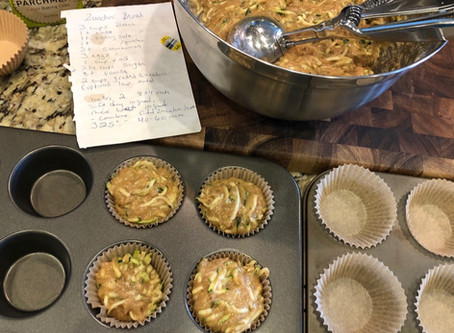 My picky eater LOVES these Zucchini Muffins