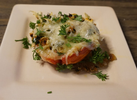 Herbed Stuffed Tomatoes