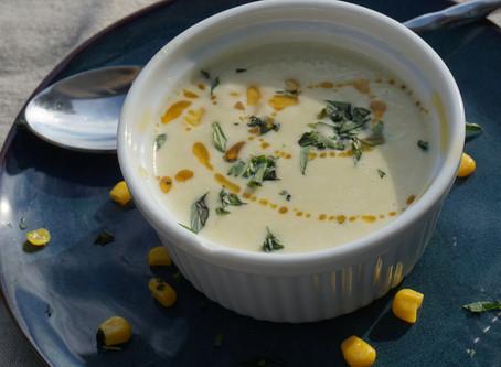 Most delightful Summer Corn Soup