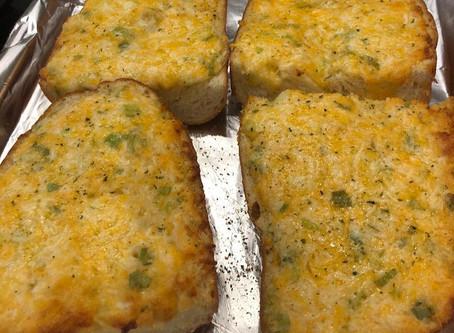 Cheesy Garlic Bread (Crack)