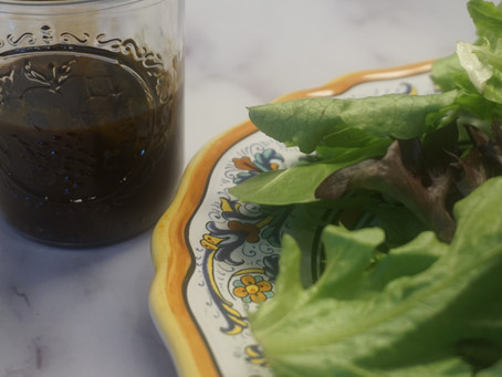 Balsamic Vinaigrette...great for any salad