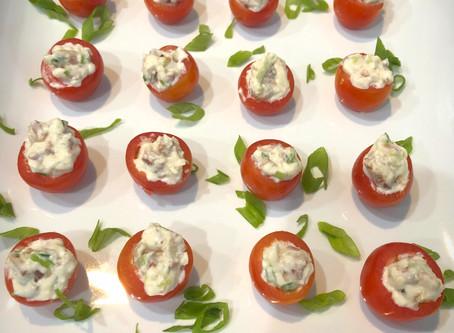 BLT Stuffed Cherry Tomatoes
