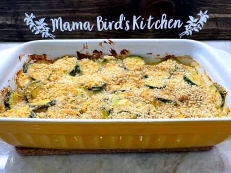 Creamy Cheesy Zucchini Casserole