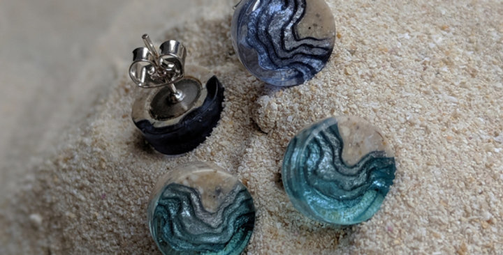 SHOAL STUD EARRINGS