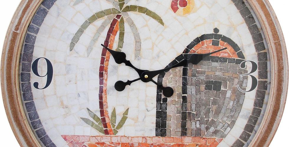 SAHARA MOSAIC CLOCK
