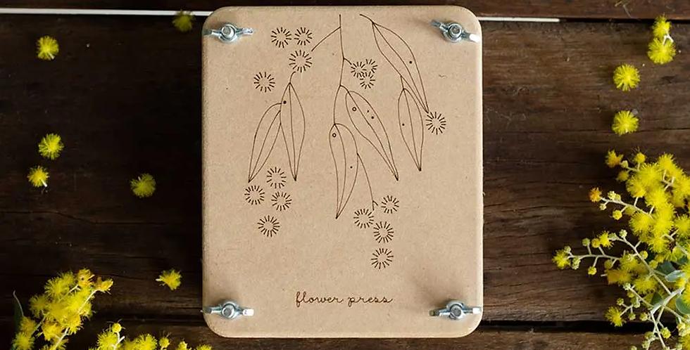 FLOWER PRESS MINI -- WATTLE