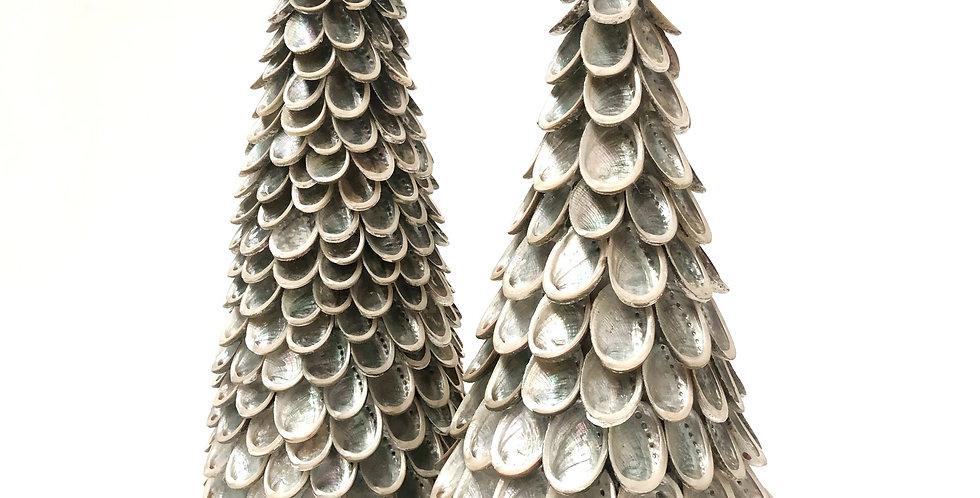 ABALONE SHELL CHRISTMAS TREE