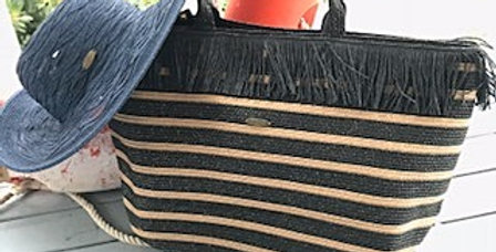 Azure Collection - Ex Large Fringed Tote