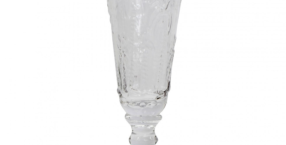 Champagne Flute Palm Clear