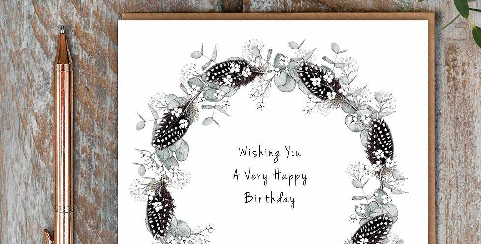 """Wishing You a Very Happy Birthday"""