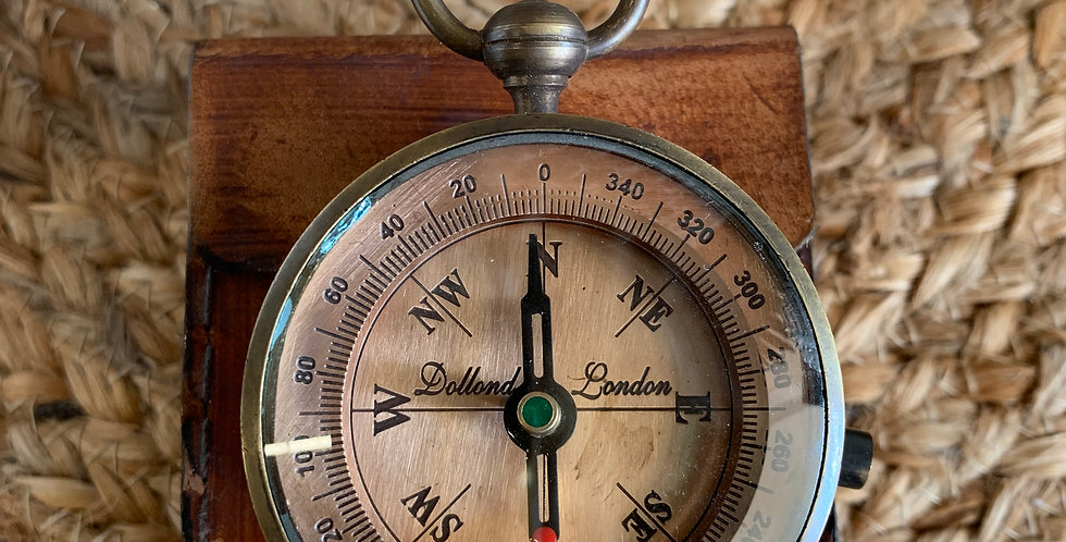Dolland Copper 55mm Pocket Compass
