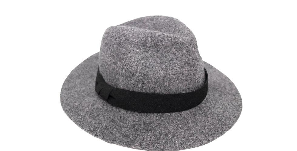 SHORT BRIM FLOPPY FELT HAT