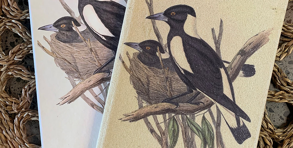 BOXED JOURNAL -- Australian Magpies