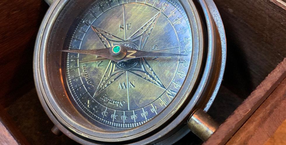 Gimballed Box Compass