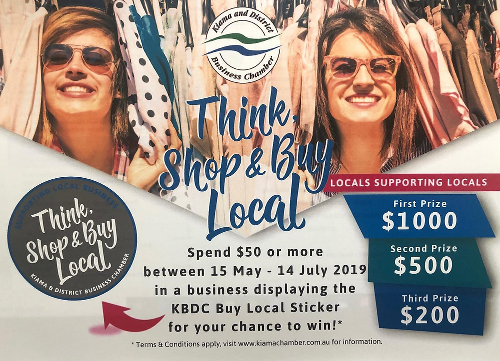 THINK, SHOP & BUY LOCAL