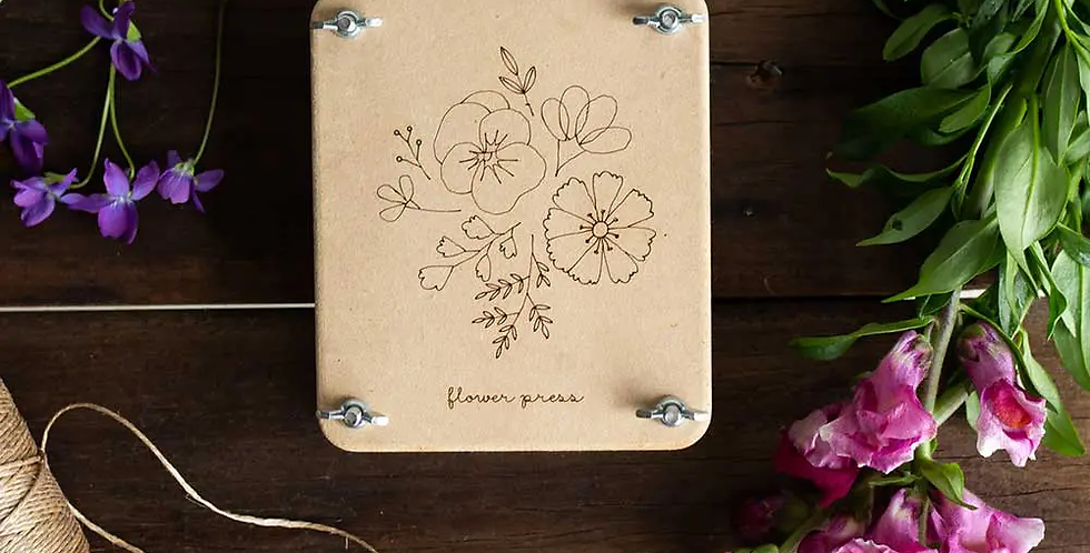 FLOWER PRESS MINI -- POSY
