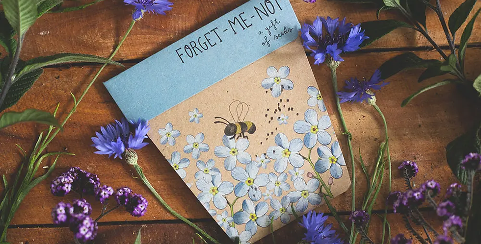 GIFT OF SEEDS -- FORGET ME NOT