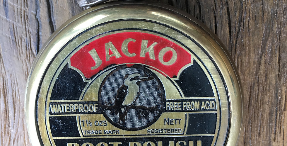 JACKO BOOT POLISH POCKET WATCH
