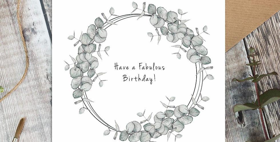 """Fabulous Birthday"""