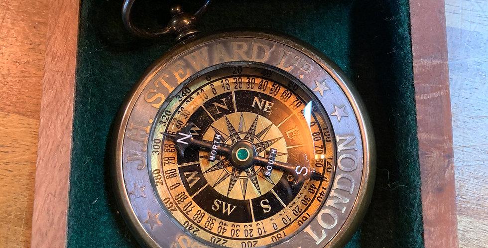 J H Steward  Portable Compass