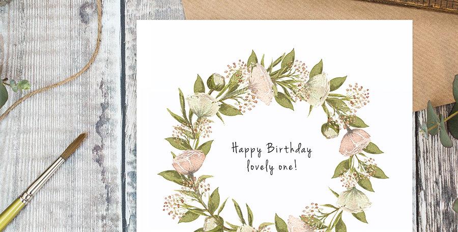"""""""Happy Birthday Lovely One"""""""