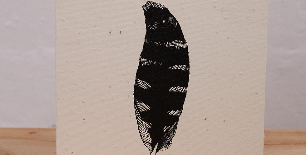 PLANTABLE GIFT CARD -- Feather