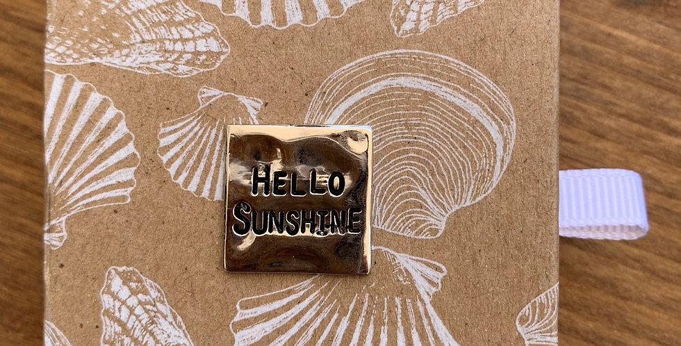 MINI SEA TRINKET -- HELLO SUNSHINE