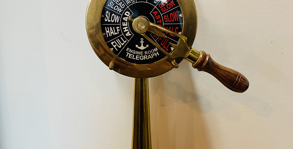 Ship Engine Room – Telegraph