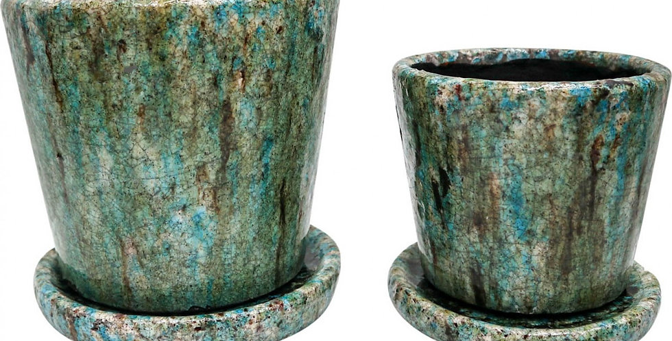 Ocean Ceramic Pots