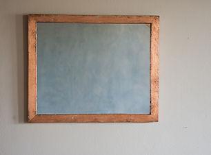 specchio artigianale in rame