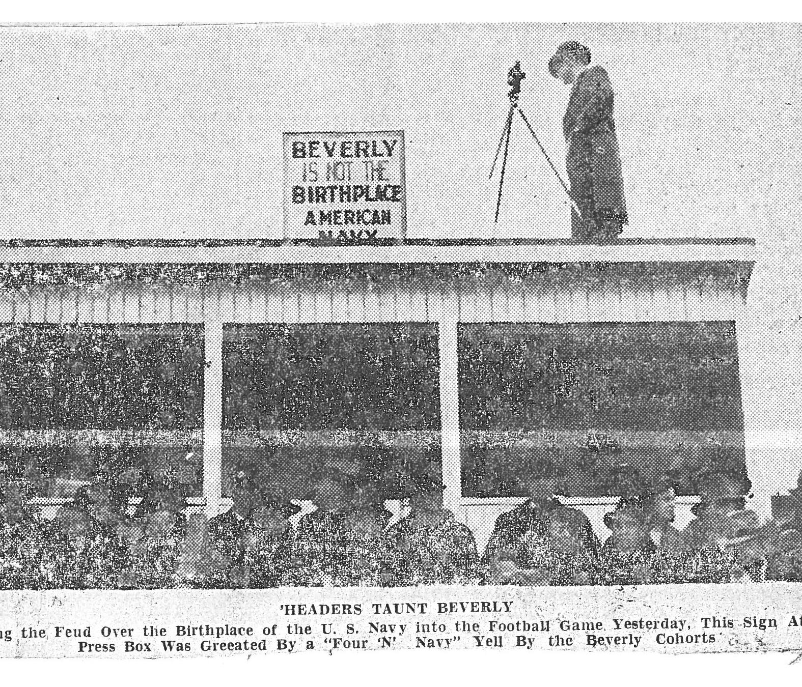 1938 Beverly vs MHS