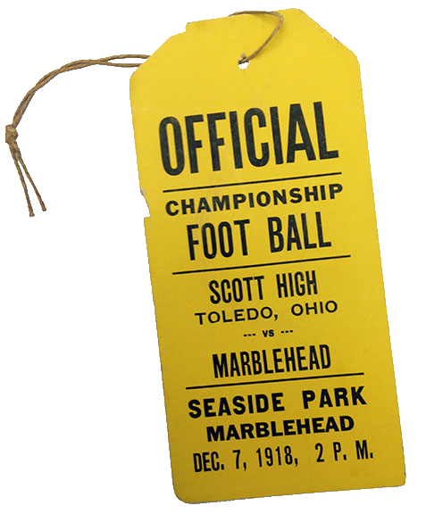 1918 Ticket