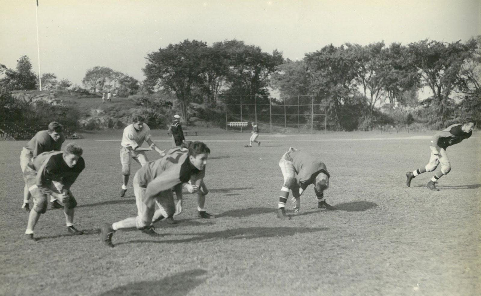 Practice at Reynolds Playground