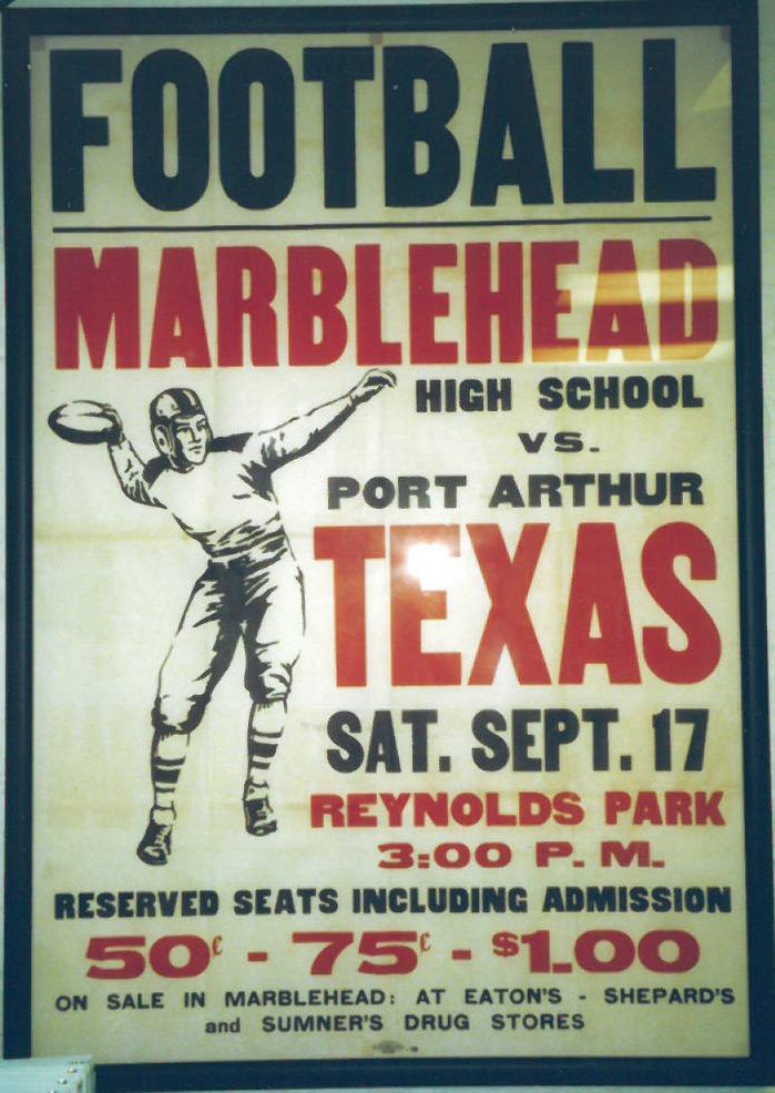 MHS vs Port Arthur 1938