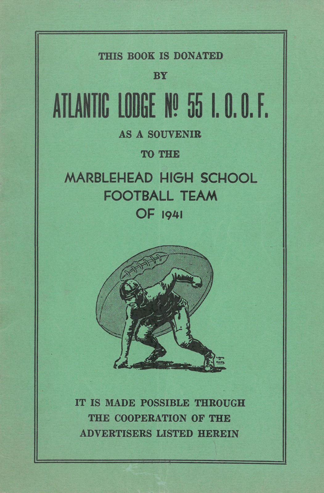 1941 Elks Thanksgiving program