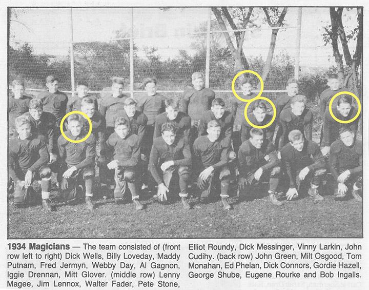 1934 Magicians WW2