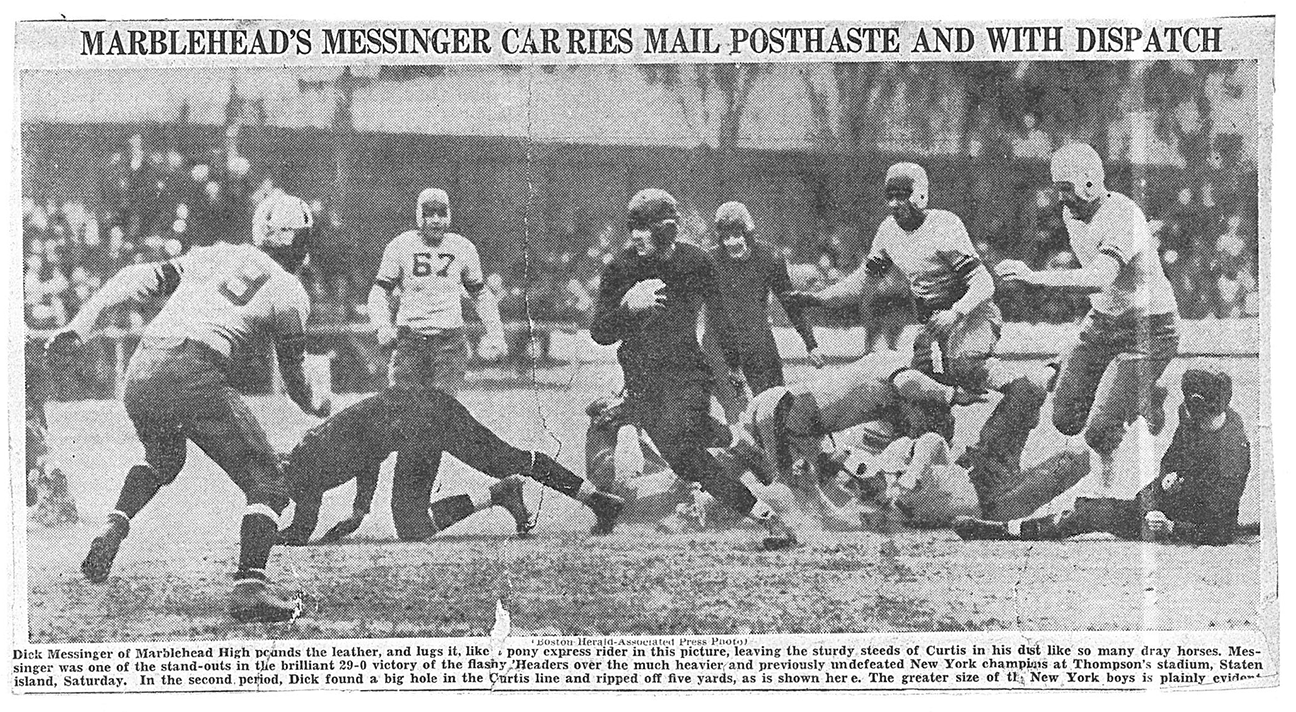 MHS 1935 vs. Curtis High School-NYC