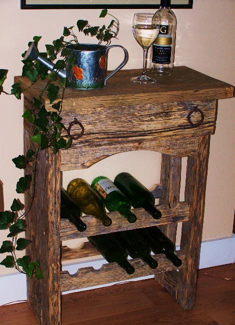 Wine Rack & Shelf