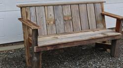 Custom Porch or garden Bench
