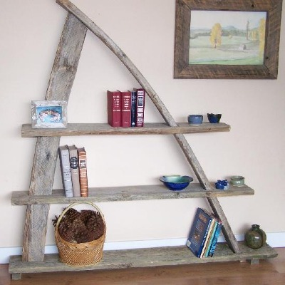 One-of-a-kind Book shelf