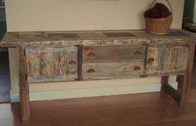 Sideboard, 7 feet,