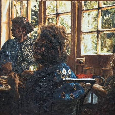 Interior with women 2. 1991.