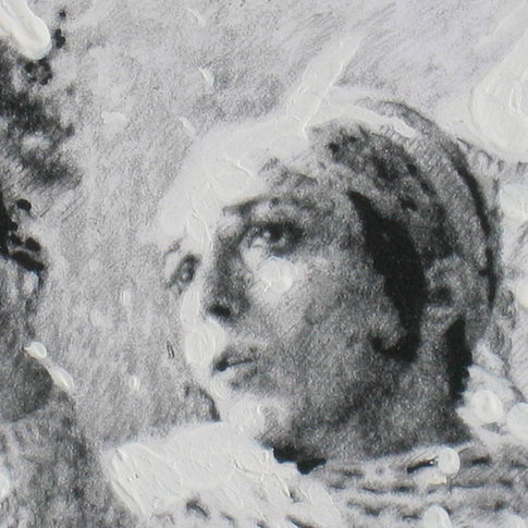 Detail, Dancers at a rehearsal 1 1980
