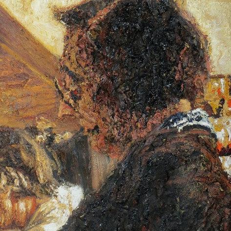 Interior with women 4. Detail.