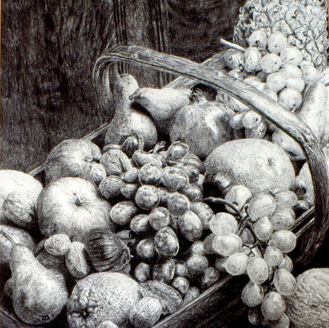 Fruit basket. 1980.