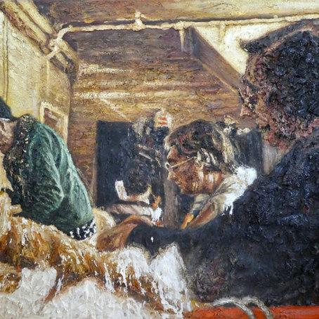 Interior with women 4. 1991.