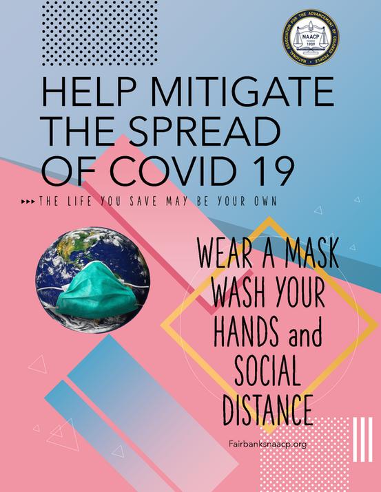 HELP MITIGATE THE SPREAD OF COVID 19[538